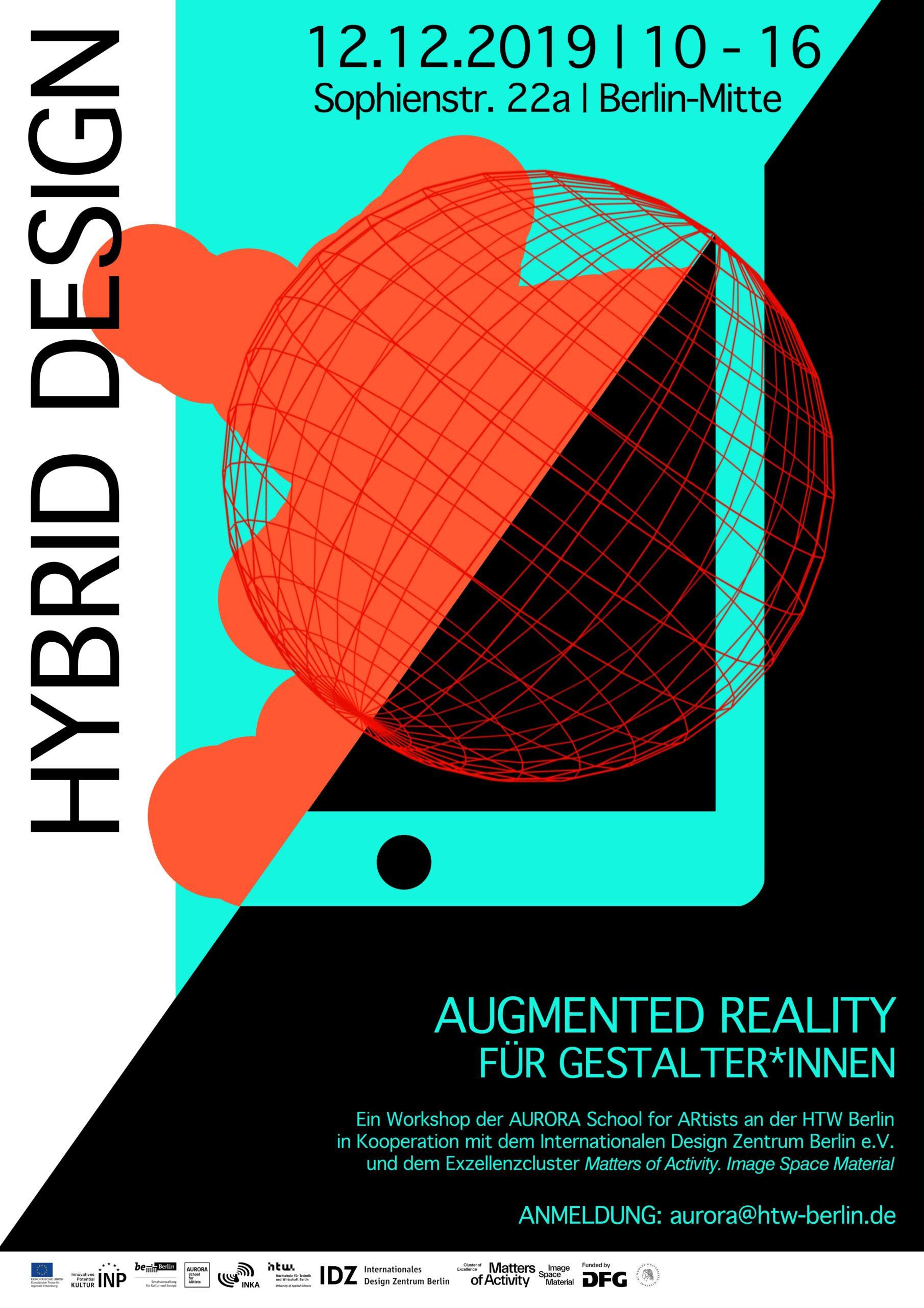 HYBRID DESIGN – Augmented Reality für Gestalter*innen